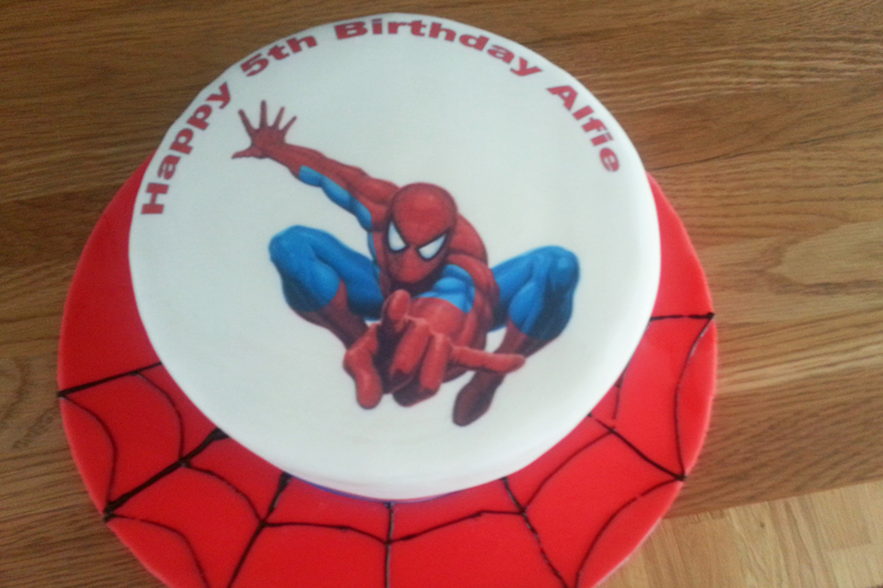 Spiderman Cake Decorations Uk : spiderman Banbury Cupcakes and more