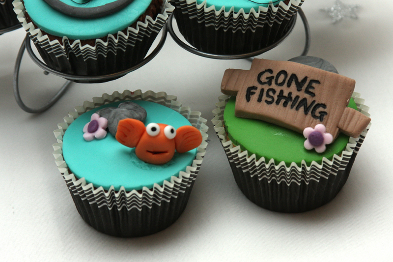 Gone Fishing Theme Banbury Cupcakes And More