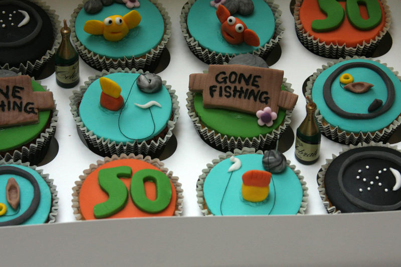 Images Of Cakes With Fishing Theme