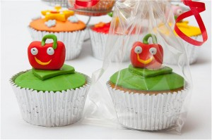 Moshi Monsters Theme Handmade Cupcakes