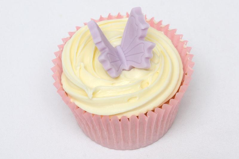 Butterfly Buttercream Swirl Cupcake