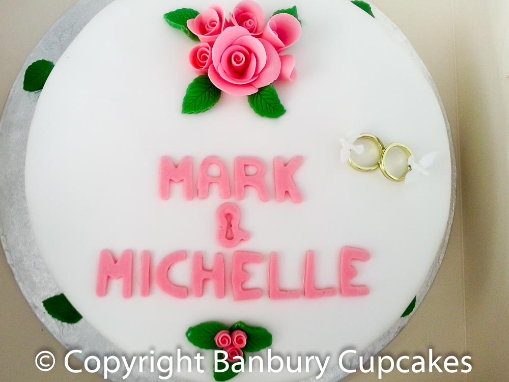 Wedding Top Tier Cake