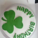 Hand Decorated Irish Birthday