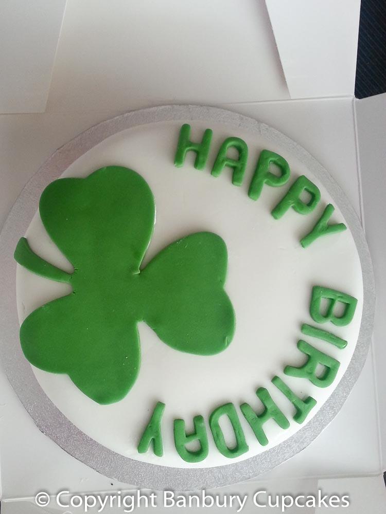 Hand Decorated Irish Birthday