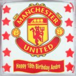 Manchester United Large Birthday Cake Topper