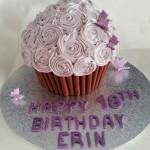 Giant Cupcake 18th Birthday