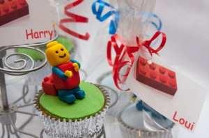 Lego Theme Handmade Cupcakes