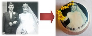 Turn Your Own Photograph Into A Cake Topper